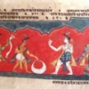 Workshop on manuscript preparation and painting in Sankari art form